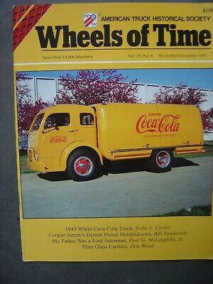 American Truck Hist.Soc - Wheels of Time - nov/dec 1997 - Coca-Cola