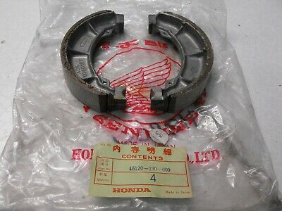 Vintage Honda Genuine New Old Stock Cb125 Cd175 Cl125 Ss125 Front Brake Shoes