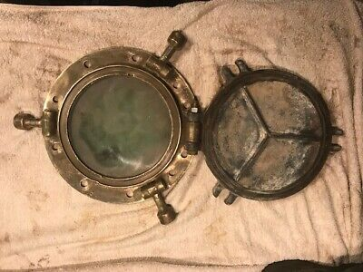 Antique Brass Porthole