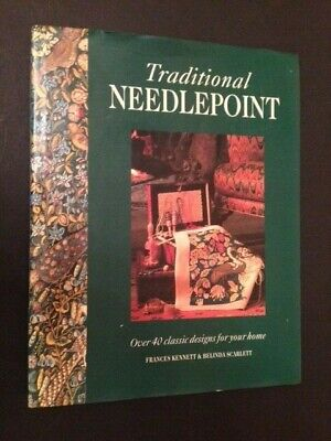TRADITIONAL NEEDLEPOINT Shelton Book 40+ Classic Designs TAPESTRY DESIGNS Morris