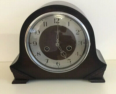 VINTAGE  SMITH ENFIELD CHIMING  MANTLE CLOCK.Manufactured In 1931. Working.