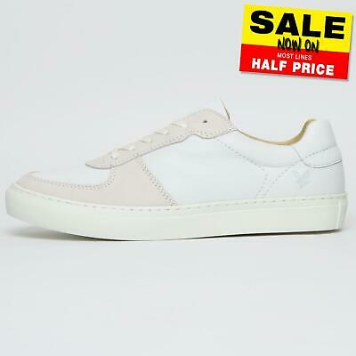 Mens Lyle & Scott Duchary Leather Classic Designer Casual Trainers UK 8 Only