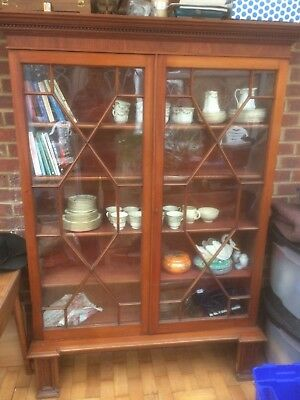 large victorian bookcase
