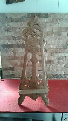 Vintage Wooden Paint Display Easel Vgc