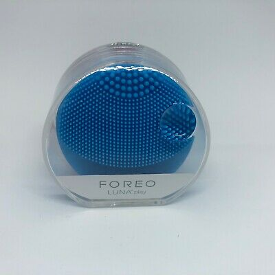 FOREO LUNA PLAY -Portable Facial Cleansing Brush (Aquamarine)NEW IN CASE