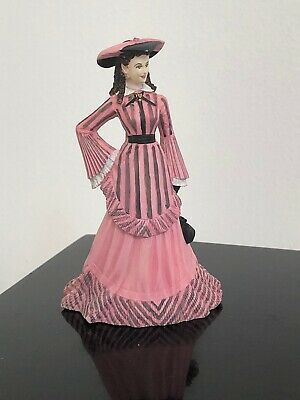 1992 Gone With the Wind Franklin Mint Figurine Scarlett O'Hara