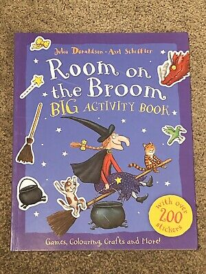 Room On The Broom Activity Book; Halloween Witch; 200+ Stickers; Brand New