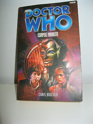 DOCTOR WHO Corpse Marker, Past Doctor Adventures (PDA), BBC book Good Condition