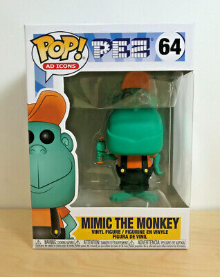 Funko Pop! Ad Icons #64 Pez - Mimic the Monkey - In Hand