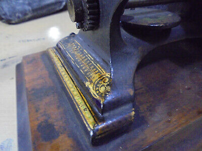 RESTORATION SERVICE For Antique Sewing Machines!