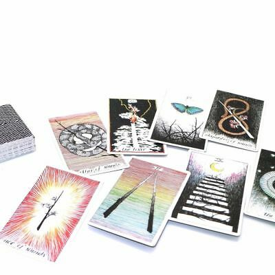 The Wild Unknown Tarot Deck Rider Waite 78pcs Oracle Set Fortune Telling Cards