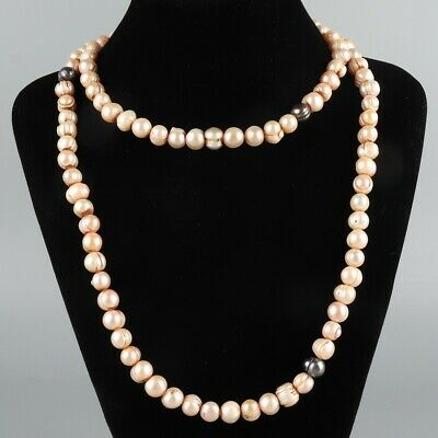 Chinese Exquisite Handmade pearl necklace
