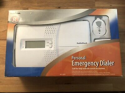 Radio Shack RadioShack Emergency Phone Dialer Personal Assistant Model 49-1005