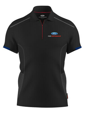 Ford Performance Mens Black Polo