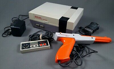 NES CONSOLE COMPLETE REFURBISHED LOCKOUT CHIP DISABLED Nintendo System 001