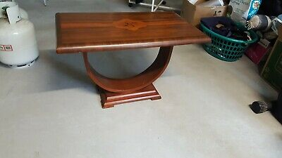 Art Deco U Occassional Table