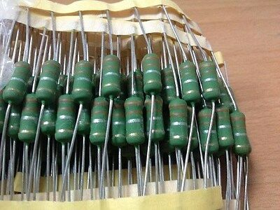 wire-wound; THT; 1.1?; 2W; ±5/%; ¨3.5x10mm; 400ppm//°C Resistor 10 pcs