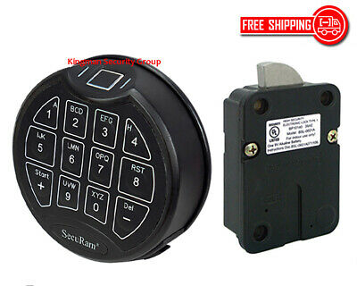 ScanLogic Basic, Matte Black Keypad & Swing Bolt Lock