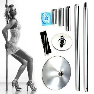 9.5FT Portable Fitness Exercise Stripper Spinning Or Static 45mm NEW Dance Pole