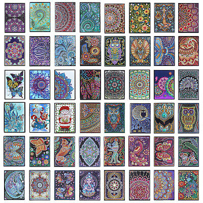 5D Diamond Painting Mosaic Crafts 50 Sheets A5 Notebook Notepad Decor Diary Book