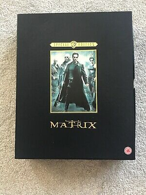 The Matrix: Special Edition Collectors Boxed Set. DVD Region 2.