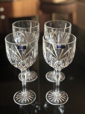 Set of 4 Marquis by Waterford Brookside All Purpose Wine Glasses