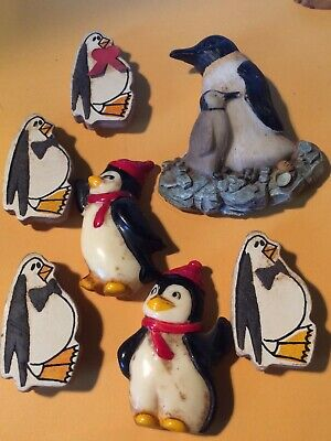 Collection of Penguin Fridge Magnets