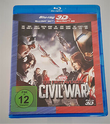 The First Avenger: Civil War - Marvel ( 3D & 2D Blu-ray ) * NEU