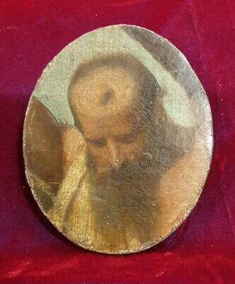 17th. 18th.Century Flemish Dutch Old Master Oil Painting Sketch 1700s Religious