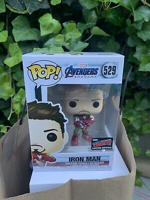 Funko Pop! Marvel Avengers Iron Man #529 NYCC 2019 Exclusive Sticker In hand!