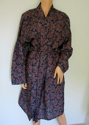 Sammy Mens Vintage Dressing Gown Smoking Jacket Size M Chest 36-38 inch Chest