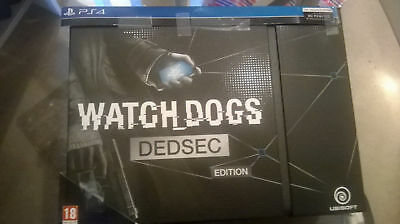 Watch Dogs Dedsec Edition PlayStation 4 Game PS4, Very Good - Mint, SEE PHOTOS