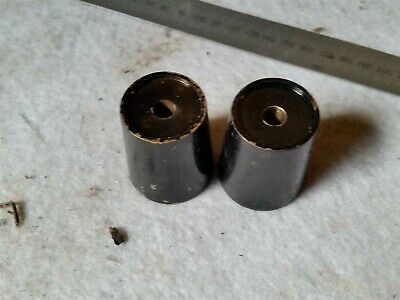 MOTORCYLE LONG BAR END WEIGHTS 50mm long Ducati