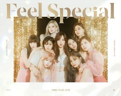TWICE 트와이스 - FEEL SPECIAL (8th Mini Album) [A version] SEALED + FOLDED POSTER