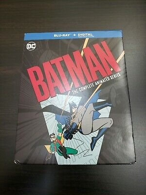 BATMAN THE COMPLETE ANIMATED SERIES BLU RAY 12 DISC SET. NO Digital Copy.