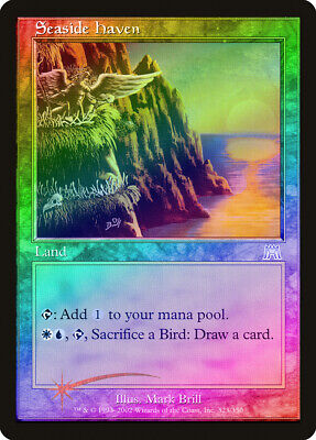 1 FOIL Seaside Haven Land Onslaught Mtg Magic Uncommon 1x x1