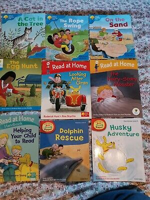 Set of 9 Oxford reading tree books, Biff, Chip and Kipper levels 3,4 & 5 VGC!!