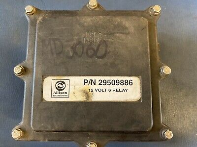 ALLISON 12 Volt 6 Relay; P/N 29509886; Good Used Takeout