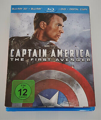 Captain America: The First Avenger - Marvel 2011 ( 3D & 2D Blu-ray ) * NEU
