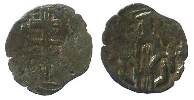 Byzantine Andronicus II Palaeologus AE Trachy Thessalonica mint SB 2388