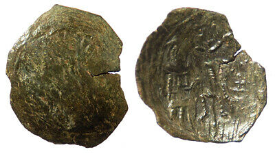Byzantine Andronicus II Palaeologus AE Trachy Thessalonica mint SB 2365