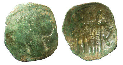 Byzantine Andronicus II Palaeologus AE Trachy Thessalonica mint SB 2377
