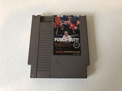 Mike Tyson's Punch-Out - Nintendo NES - Cleaned & Tested