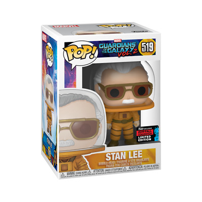 NYCC 2019 Exclusive Funko POP Marvel: Stan Lee #519 Cameo - Astronaut NEW IN BOX