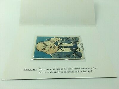 Rare Helmut Kohl Phonecard Collectors Society Sealed Edition