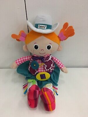 Lamaze Carly The Cow Girl Soft Toy Doll