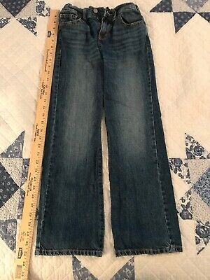 Boys 10 Bootcut Jeans With Elastic Backed Waist