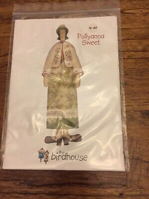 Pollyanna Sweet The Birdhouse Doll Pattern