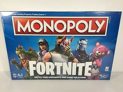 NEW Monopoly Fortnite Edition Board Game Inspired by Fortnite Video Game Hasbro