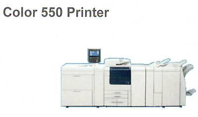 Fuji Xerox Colour 550 Printer with Integrated Fiery & High Capacity Trays